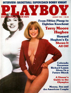 Playboy Magazine ~ August 1984 (Terry Moore)…