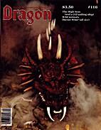 Dragon Magazine 116 by Roger E. Moore