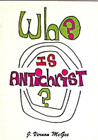 WHO IS ANTICHRIST? by J. Vernon McGee