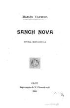 Sang nova: novel·la muntanyenca by Marian…