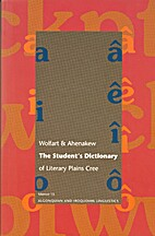The student's dictionary of literary Plains…