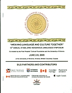 12th Annual Stabilizing Indigenous Languages…