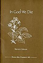 In God we die by Warren Ostrom