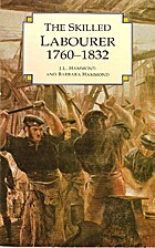 Skilled Labourer 1832 by J. L. Hammond