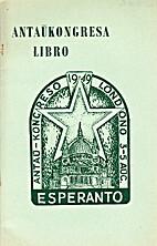 Antaŭkongreso de Esperanto, Londono, 3-a…