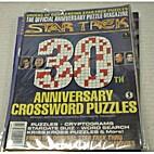 Star Trek 30th Anniversary Crossword Puzzles…