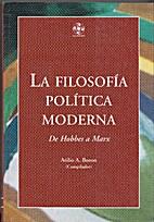 Filosofia Politica Moderna: de Hobbes A Marx…