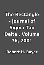 The Rectangle - Journal of Sigma Tau Delta ,…