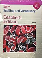 Houghton Mifflin Spelling and Vocabulary…