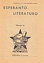 Esperanto-Literaturo: Eldonaĵoj de…