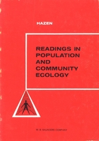 Readings in Population and Community Ecology…