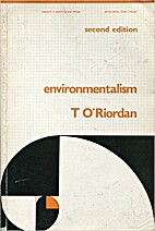 Environmentalism (Research in Planning &…