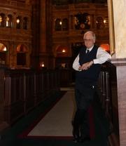 Author photo. Tomas Mann, Librarian.
