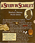 A study in Scarlet, Based on the Story by…