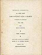 Bosquejo biográfico del señor oidor Juan…