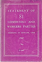 Statement of 81 Communist and Workers…