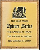 Colt Press Epicure Series. The Epicure in…