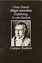 Hegel verstehen. Eine Einführung in…