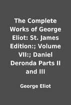 The Complete Works of George Eliot: St.…