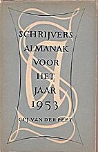Schrijversalmanak voor het jaar 1953 by…