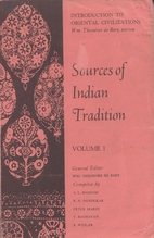 Sources of Indian tradition by William…
