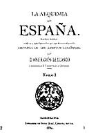 La alquimia en España by…