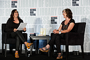 """Author photo. Barbara Kingsolver speaks on the Fiction Stage with NPR's Mandalir del Barco at the National Book Festival, August 31, 2019. Photo by Shawn Miller/Library of Congress. By Library of Congress Life - 20190831SM1318.jpg, CC0, <a href=""""https://commons.wikimedia.org/w/index.php?curid=82899316"""" rel=""""nofollow"""" target=""""_top"""">https://commons.wikimedia.org/w/index.php?curid=82899316</a>"""