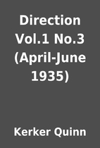 Direction Vol.1 No.3 (April-June 1935) by…