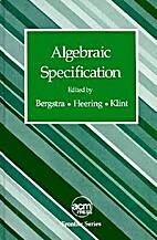 Algebraic Specification (Acm Press Frontier…