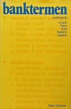 Banktermen by M. Cohn