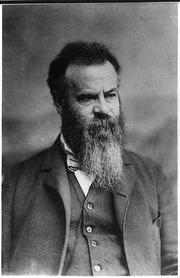 Author photo. John Wesley Powell (1834-1902) (Library of Congress Prints and Photographs Division. Reproduction Number: LC-USZ62-3862)