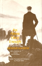 An Abyss Deep Enough: Letters of Heinrich…