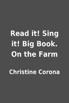 Read it! Sing it! Big Book. On the Farm by…