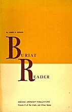 Buriat reader by James E. Bosson