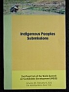 Indigenous peoples submissions to the 2nd…