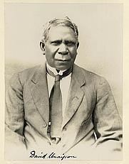 Author photo. From, Legendary Tales of Australian Aborigines, 1924-1925