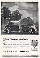1937-38 Armstrong Siddeley Atlanta Saloon Ad…