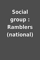 Social group : Ramblers (national)