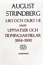 August Strindbergs samlade verk :…