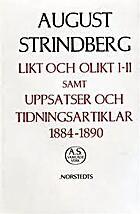 August Strindbergs samlade verk :…