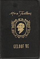 Geloof me by Max Tailleur