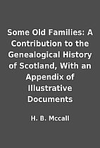 Some Old Families: A Contribution to the…