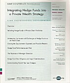 Integrating Hedge Funds into a Private…