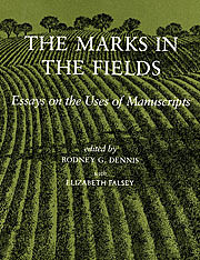 The Marks in the Fields: Essays on the Uses…
