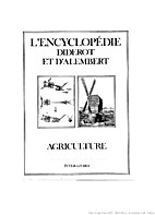 Agriculture (L'Encyclopedie Diderot &…