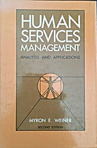 Human Services Management: Analysis and…