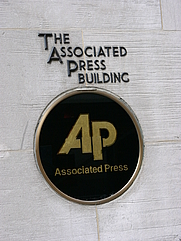 Author photo. (Old) AP Building, New York.  Photo by Alterego / Wikimedia Commons