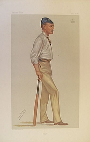 "Author photo. ""SPY"". Leslie Ward (1851-1922)"