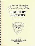 Madison Township, Williams County, Ohio…