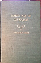 Essentials of Old English;: Readings with…